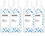 Amazon Brand - Solimo Hand Sanitizer Gel (72% Ethanol Absolute) - 100 ml (Pack of 4)