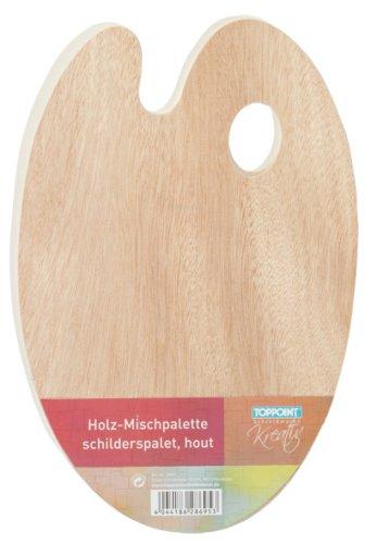 Toppoint 28695 Mischpalette, aus Holz