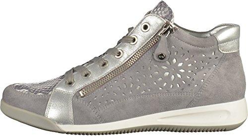 ara 12-34441 G femmes Baskets gris/argent