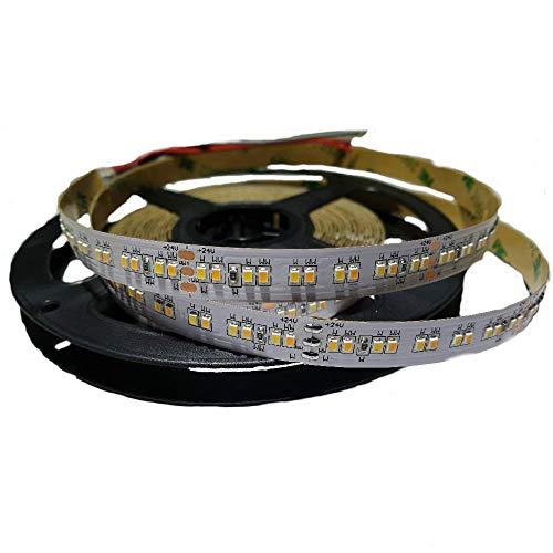 CCT LED Stripe SMD Farbtemperatur einstellbar CW / WW Kaltweiß Warmweiß dimmbar 24V Streifen Band 2216 Chip 240/lm Strip