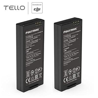 Ocamo 2 PCS Original Battery 1100 mAh 3.8 V for DJI Smart Flight Tello Drone Accessories