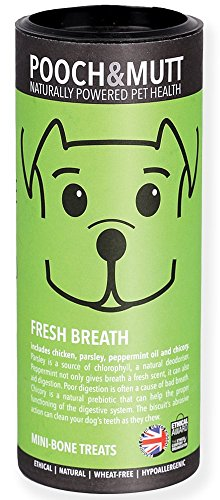 pooch-and-mutt-fresh-breath-mini-bone-dog-treats-125-g-pack-of-6