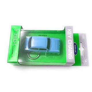 Onlineworld2013 Welly Trabi Trabant 601 Schlüsselanhänger Keychain Blau/Lizensiert