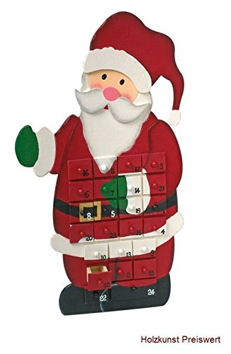 Descrizione Di Babbo Natale Per Bambini.Ld Decorazioni Di Natale Calendario Dell Avvento Babbo Natale In