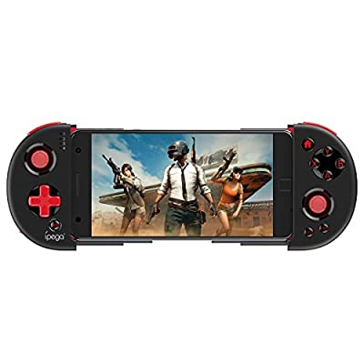 Bluetooth Gamepad Game Controller Extendable Holder Wireless Joystick Smartphone up to 6.2 inches Remote Control for Android/PC