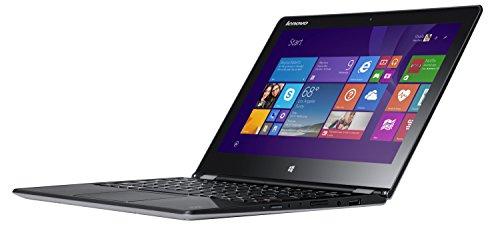 Lenovo Yoga 3 11 29,5 cm (11,6 Zoll FHD IPS) Convertible Ultrabook (Intel Core M-5Y71, 2,0GHz, 8GB RAM, 256GB SSD, Intel HD Graphics, Touchscreen, Win8.1) silber