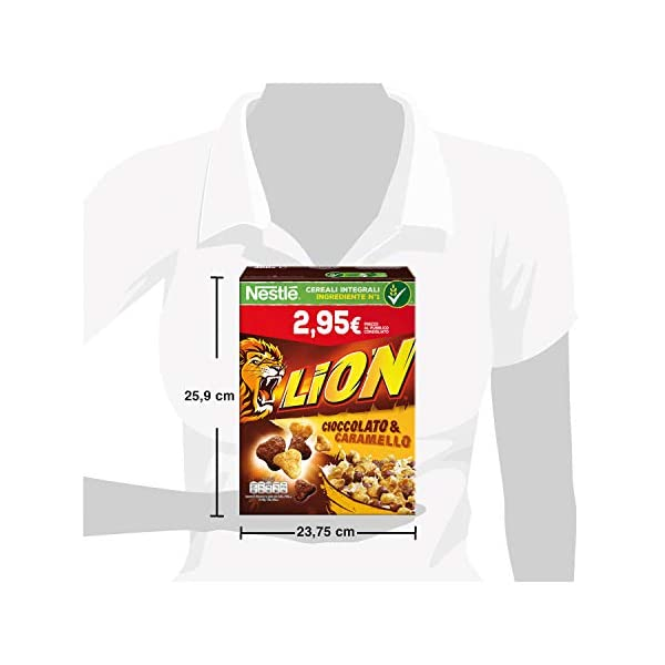 Nestlé Lion Cereali al Cioccolato e Caramello 4 spesavip