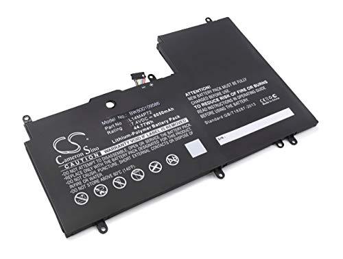 vhbw Li-Polymer Batterie 6050mAh (7.4V) pour Ordinateur Portable, Notebook Lenovo Yoga 3 14\