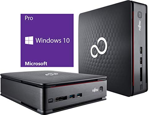 Fujitsu Esprimo Q520 | Mini PC | Intel Core i5-4570T @ 2,9 GHz | 8GB DDR3 RAM | 500GB HDD | DVD-Brenner | Windows 10 Pro (Generalüberholt)