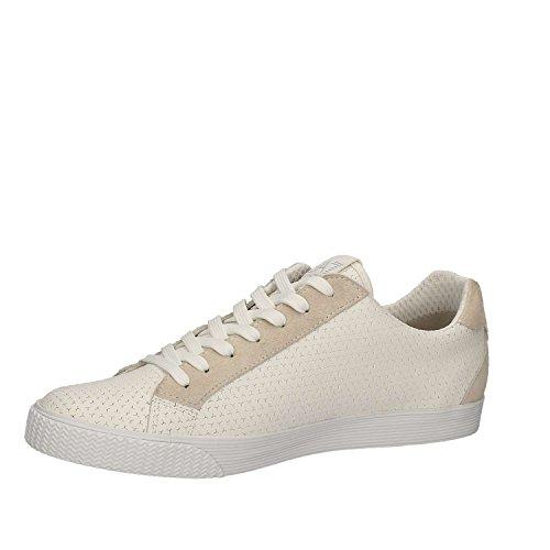 Emporio Armani EA7 scarpe sneakers uomo nuove originale pryde blu Bianco