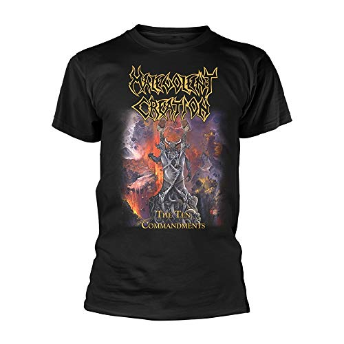 Malevolent Creation The Ten Commandments T-Shirt L