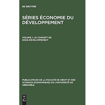 Le concept de sous-développement