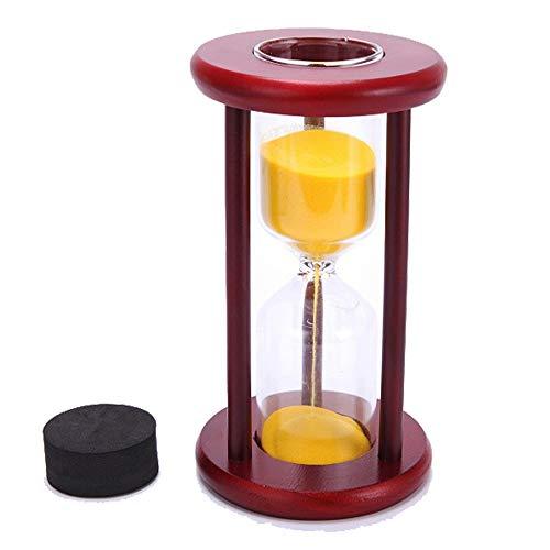 Florawang Wein Holz Sand Glas Uhr Sanduhr Timer Decor, leer, Stellen Sie Ihre Hochzeitsfeier Sand
