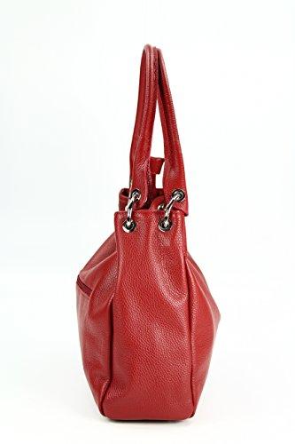 Belli, Borsa a spalla donna marrone cognac 20x12x8 cm (B x H x T) Rot