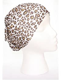 TC-Accessories YELLOW Leopard print pattern 12 in 1 snood tube scarf Multifunctional Headwear