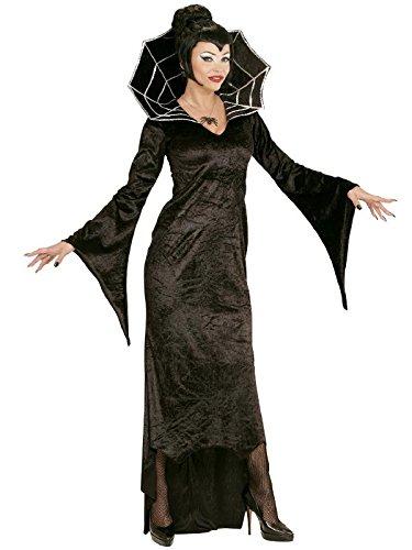 Kostüm Karneval Damen Kostüm Halloween vapira Spiderella * 21812, mehrfarbig L