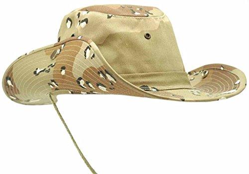 US Army Outdoor Buschhut Boonie Hat aus stabilem Rip Stopp in vielen Farben und Größen (XL, 6 Farben ()