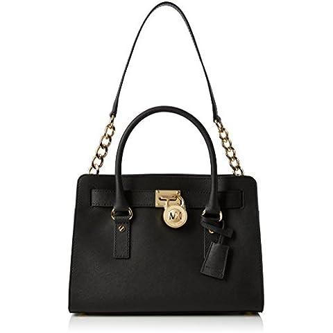 Michael KorsHamilton Saffiano Leather Medium Satchel - Bolsa de Asa Superior Mujer