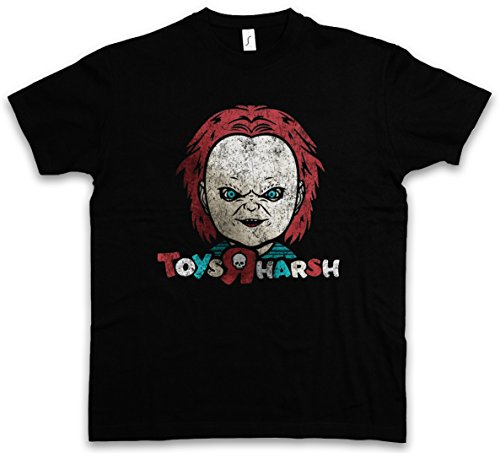Urban Backwoods Toys R Harsh T-Shirt – Taglie S – 5XL Nero