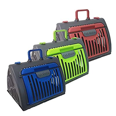 Pet kitten Dog Collapsible Portable Travel cage Carrier Car Puppy Cat Cage Dog Flight from Display Guru