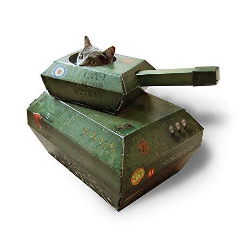 Suck uk tiragraffi per gatti, cartone, army green, m