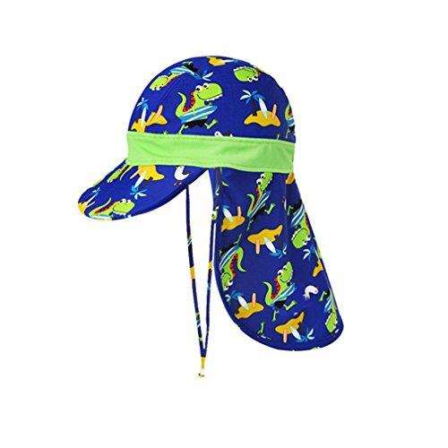 Huayue Baby Sun Hat Sombreros para niñas Protector Solar para niños Gorra de  baño con Cuello 67d34a48a2e2