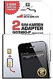 G-TELWARE GDSI8G-P/CARBONSCHWARZ/ 2 Jahre Herstellergarantie!/ Mehrsprachig/Dual SIM Adapter kompatibel mit iPhone 8 Plus UMTS/3G/HSDPA/GPS/LTE