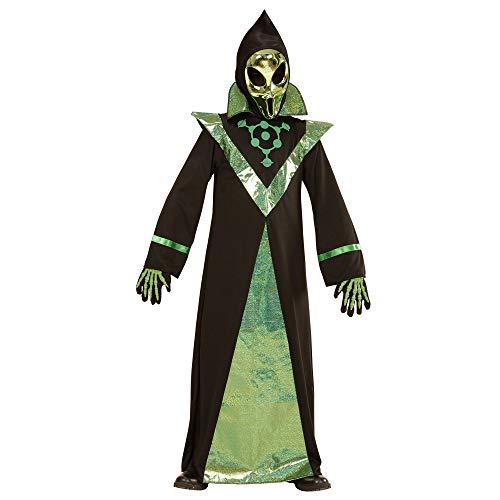 Alien Kostüm Kind Komplettes - Widmann Kinderkostüm Alien