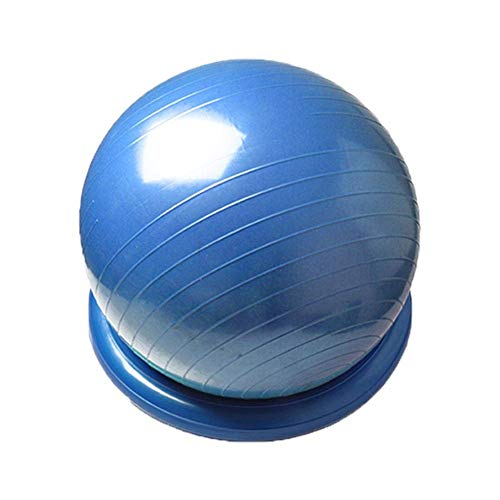H-ONG Yoga Ball Stability Ring Exercise Ball Chair Thickened Explosion-Proof Beginner Fitness Ball Yoga Ball Positioning Fixing Ring for Yoga Pilates, Pregnancy Fitness Office Home Use (Stability Ball Chair)