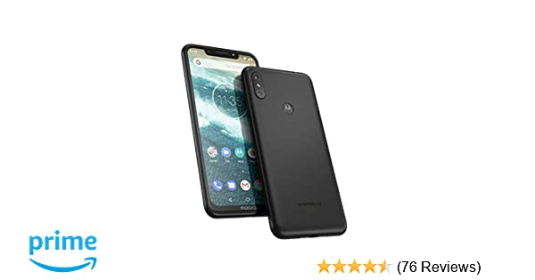 Motorola One 64 GB 5 9 Inch Android One Android 8 1 UK
