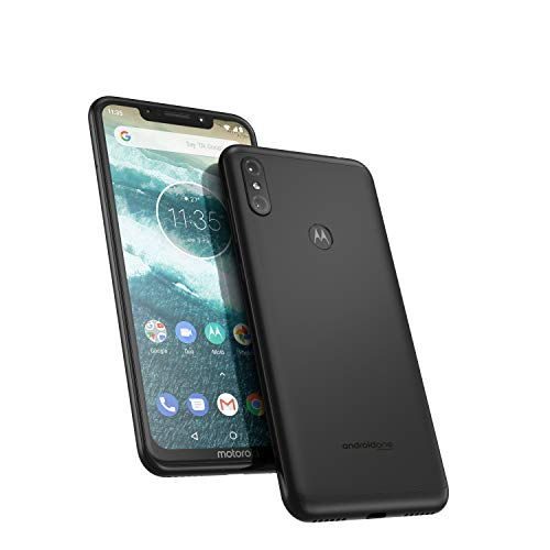 1cbd5427ae Motorola One 64GB 5.9-Inch Android One Android 8.1 UK Sim-Free Smartphone  with