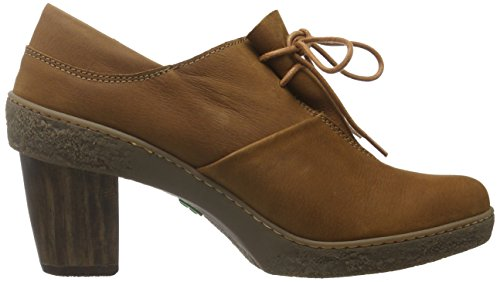 El Naturalista Nf70 Pleasant Wood/Lichen, Scarpe Stringate Basse Oxford Donna Marrone (Wood Nnd)