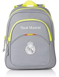 Safta Real Madrid Mochila Infantil, Color Gris