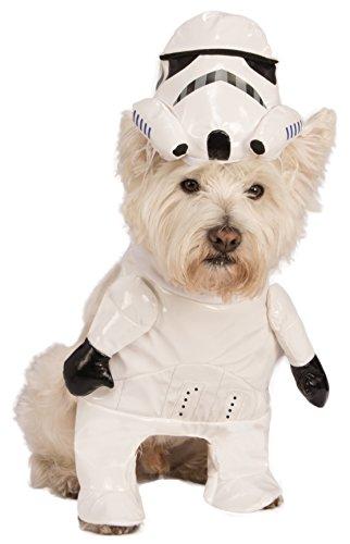 Rubies Costume Star Wars Walking Stormtrooper Pet Kostüm, groß