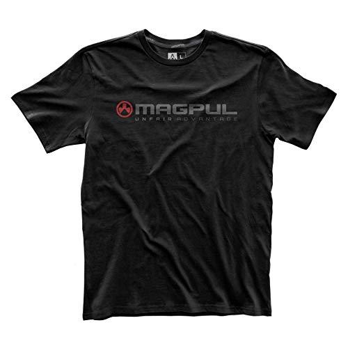 Custom Athletic Shirts (Magpul Herren Fine Cotton Unfair Advantage T-Shirt kurzärmelig, schwarz, Small)