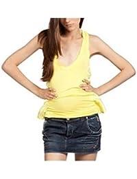 ZU ELEMENTS Z11084326132EG TATUFFO Camiseta de Tirantes Mujer