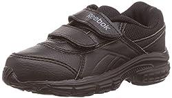 Reebok Unisex Champ Kc Lp Black Running Shoes - 10 UK
