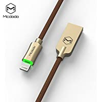 Mcdodo Auto Disconnect Series Lightning Ladekabel / Datenkabel für iPhone 7, iPhone 6s, iPhone 6, iPad … (1.8m, gold)