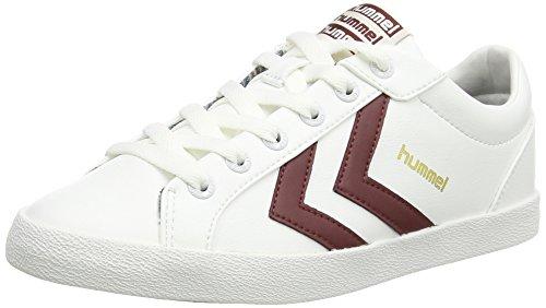 hummel DEUCE COURT Unisex-Erwachsene Sneakers Weiß (White 9001)
