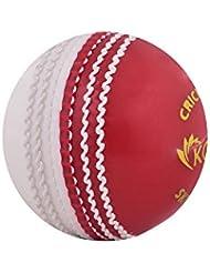 Kosma Cricket Ball Poly Sof t| Skill Ball (rot/weiß)