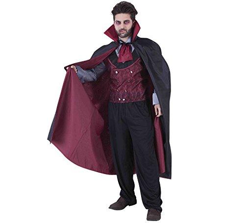 Rubies- Capa Mr. Vampiro Ad, Multicolor, Talla única (S5209)
