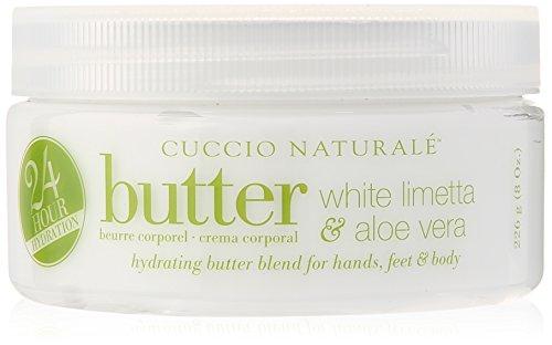 Matte Nail-strengthener (Cuccio Naturale Butter, White Limetta and Aloe Vera 226 g)
