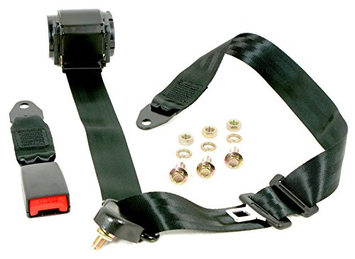 3 Punkt Automatikgurt Universal Sicherheitsgurt 3700mm mit Gurtlasche TÜV E Prüfung