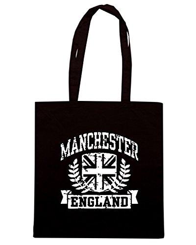 T-Shirtshock - Borsa Shopping TSTEM0188 manchester england (3) Nero