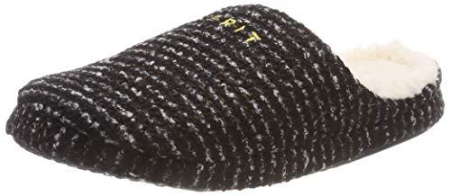 ESPRIT Damen Pepper Knit MUL Pantoffeln, Schwarz (Black 001), 37 EU