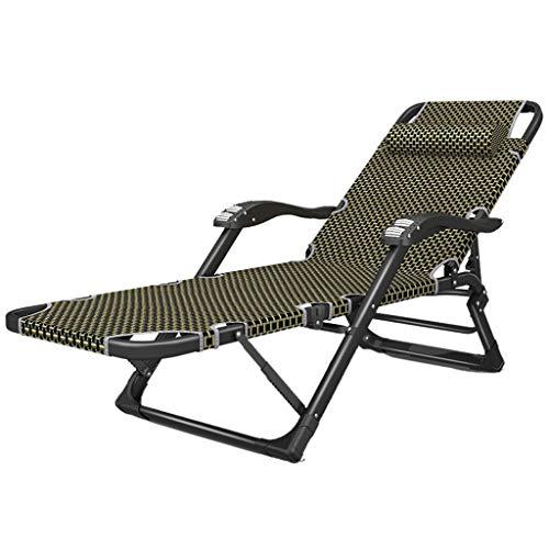 Sedie a sdraio salotto pieghevole elegante sedia da spiaggia in ferro battuto balcone patio sedia a sdraio poltrona pigra letto pieghevole per ufficio/sedia pieghevole sedia pieghevole portatile