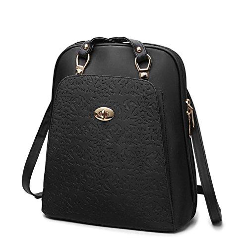 La version coréenne de sac à dos/Sac à double usage polyvalent/Sacs de voyage pour dames-A A