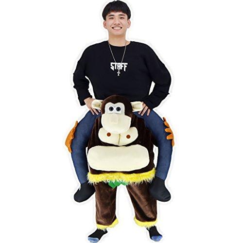 Air Dancer® BAVARIAN BEER GUY CARRY ME MASCOT FANCY DRESS COSTUME (Gorillas) (Air-gorilla)