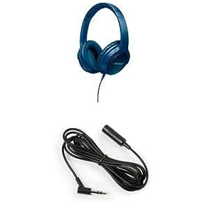 Bose - SoundTrue II - Casque Circum-aural - Pour Android - Bleu + Câble d'Extension - 1,50 m