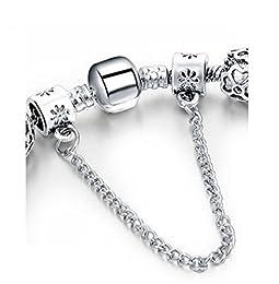 Acheter BS - Bracelet Charms - Argent Sterling,... en ligne